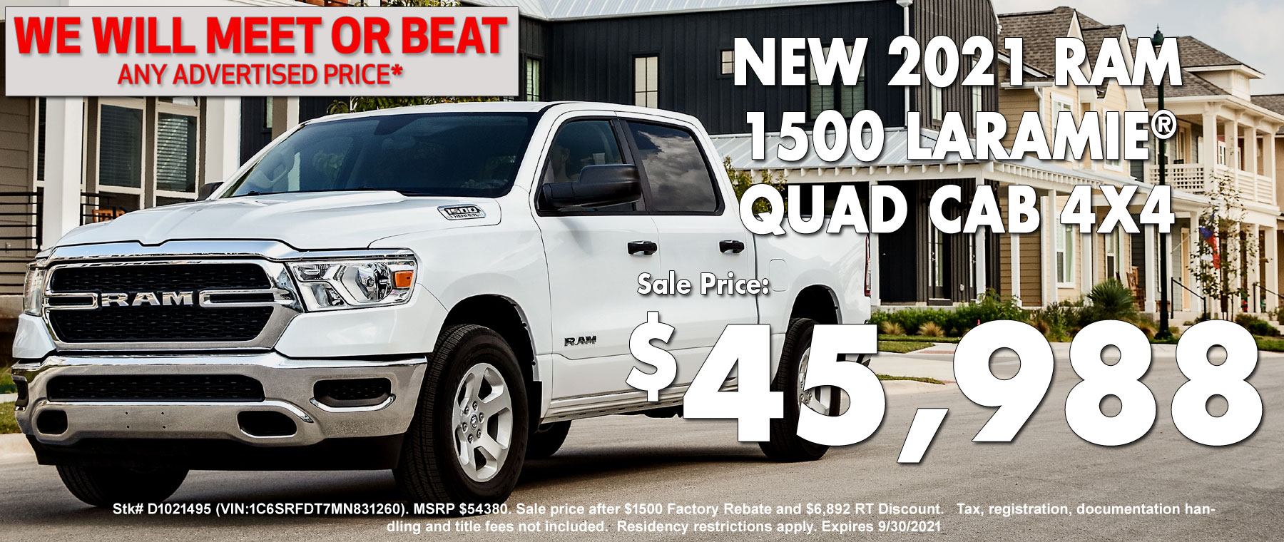New Ram 1500 Special