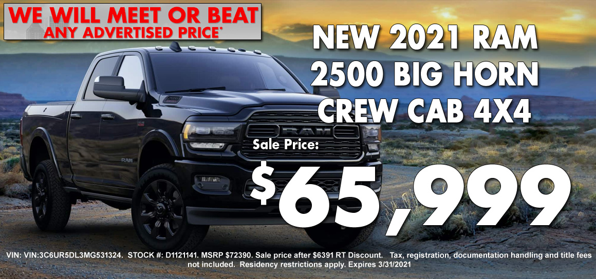 New Ram 2500 Special