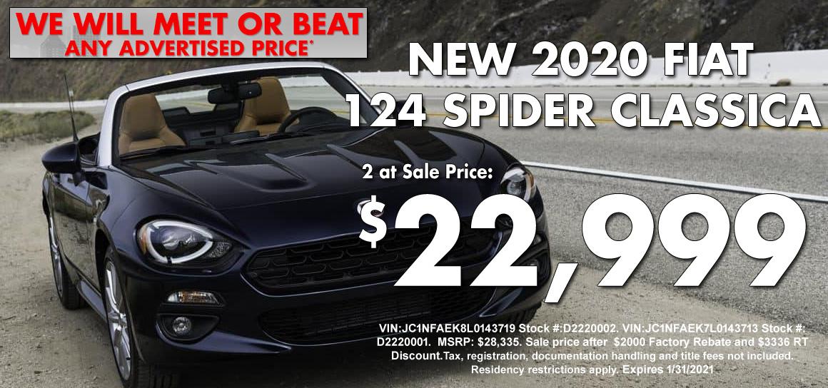 New FIAT Spider Special