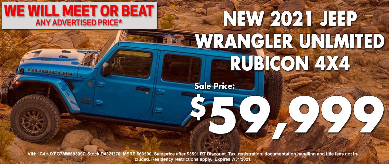 New Jeep Wrangler Special