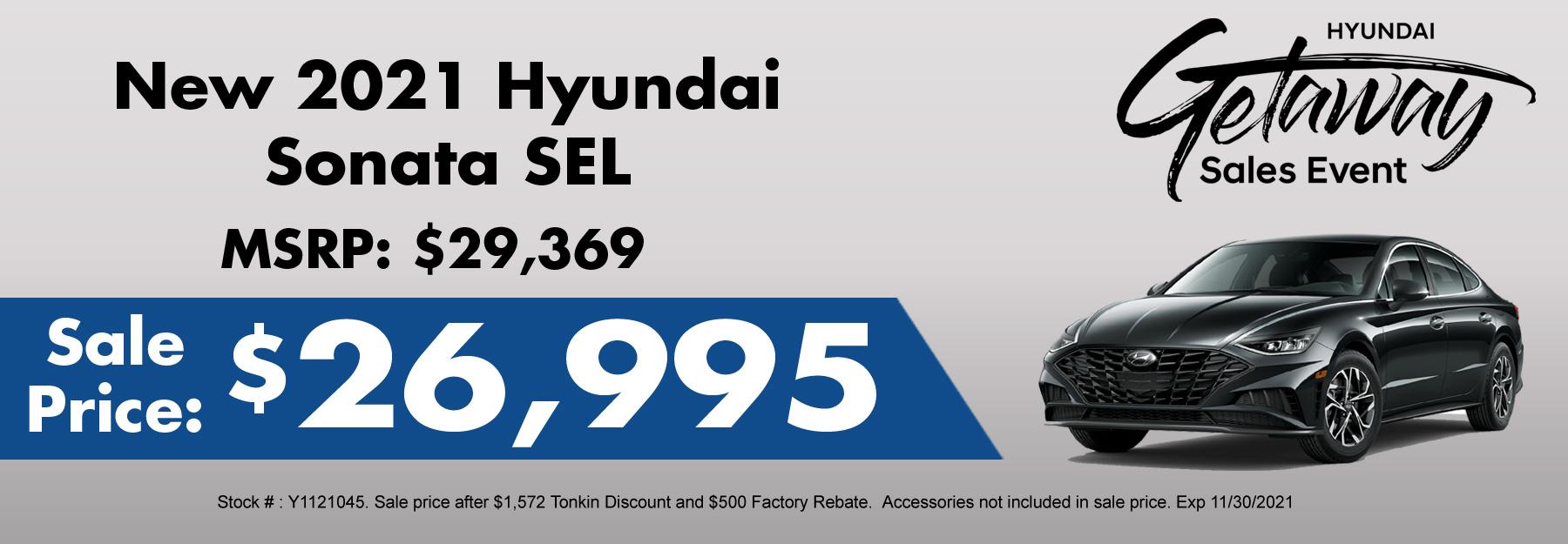 New Hyundai Sonata Special