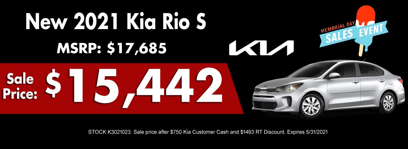 2021 Kia Rio Special
