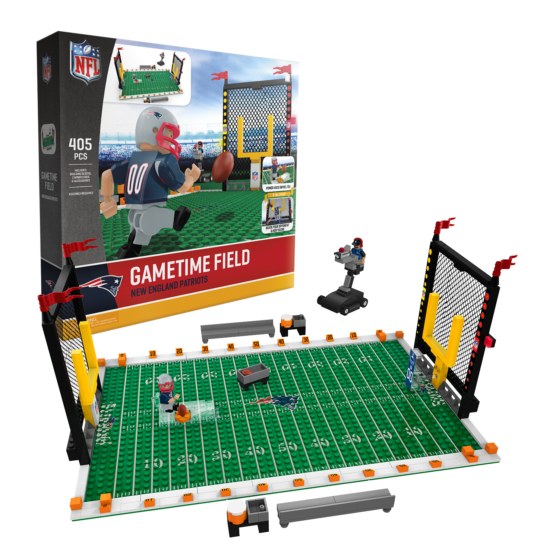 New England Patriots NFL OYO Figure and Field Set Team Game Time Set Field 8aa0e0