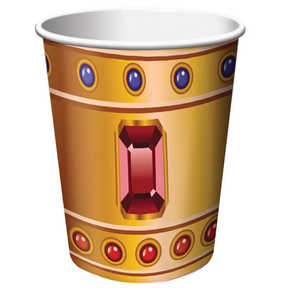 8 Pack 9Oz Cups Buried Treasure