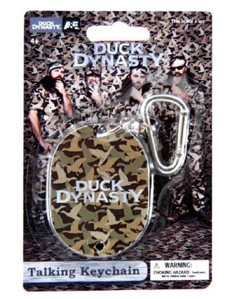 Duck Dynasty Talking Keychain