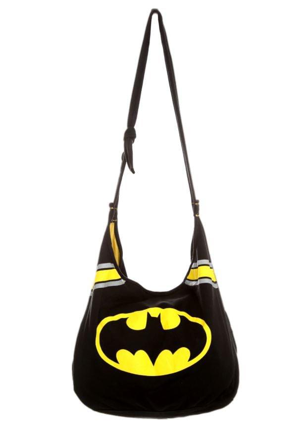 DC Comics Batman Logo Hobo Bag