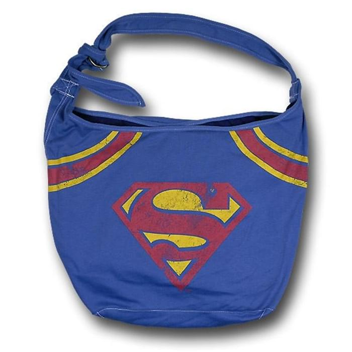 DC Comics Superman Logo Hobo Bag