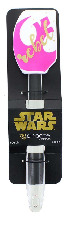 Star Wars White/Pink Rebel 11 Inch Silicone Spatula