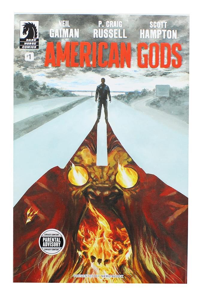 American Gods #1 (Nerd Block Exclusive Cover)