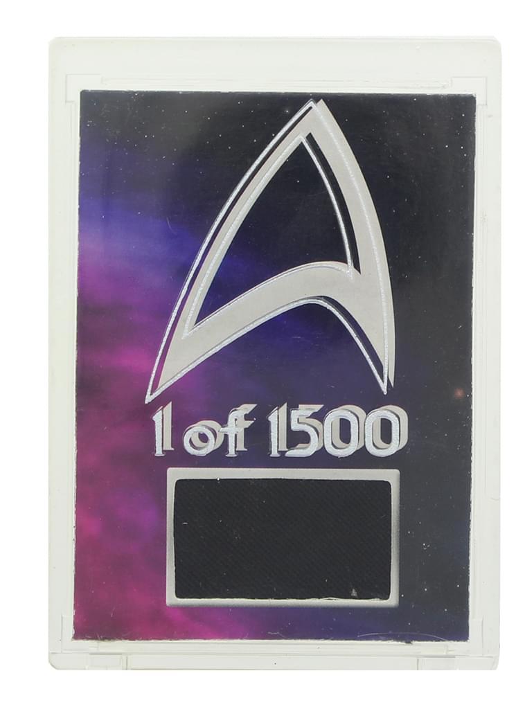 Diamond Select Star Trek Deep Space 9 Worf Uniform 1 of 1500 Trading Card