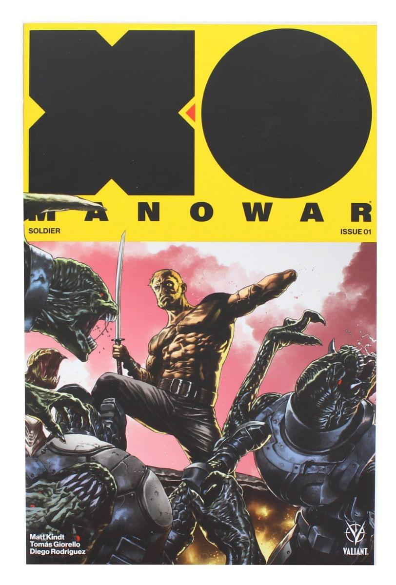 X-O Manowar 1 Valiant 2017 NM 1:20 Mico Suayan Variant Matt Kindt