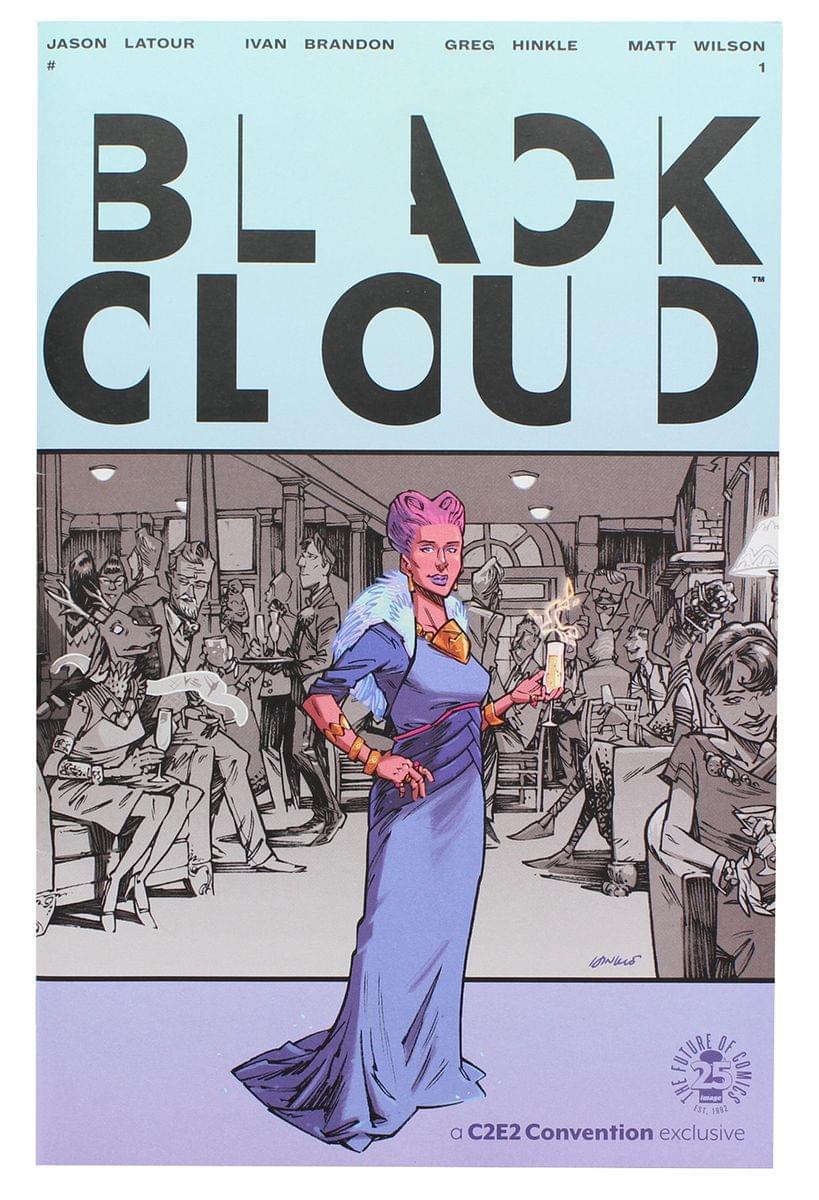 Black Cloud #1 (C2E2 2017 Exclusive Cover)