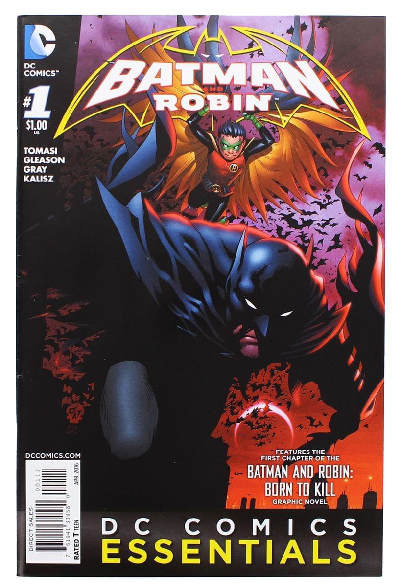 Batman and Robin Born to Kill #1 Graphic Novel