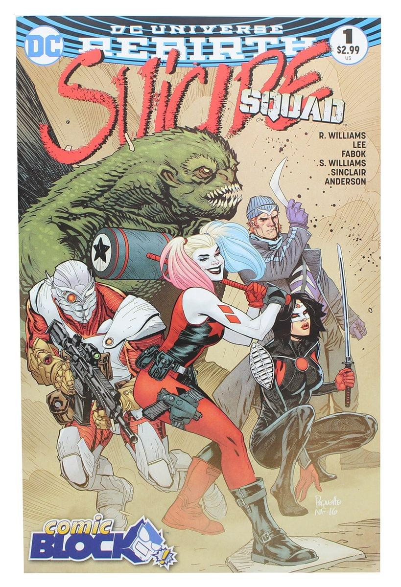 DC Universe Rebirth: Suicide Squad #1 (Nerd Block Exclusive Cover)