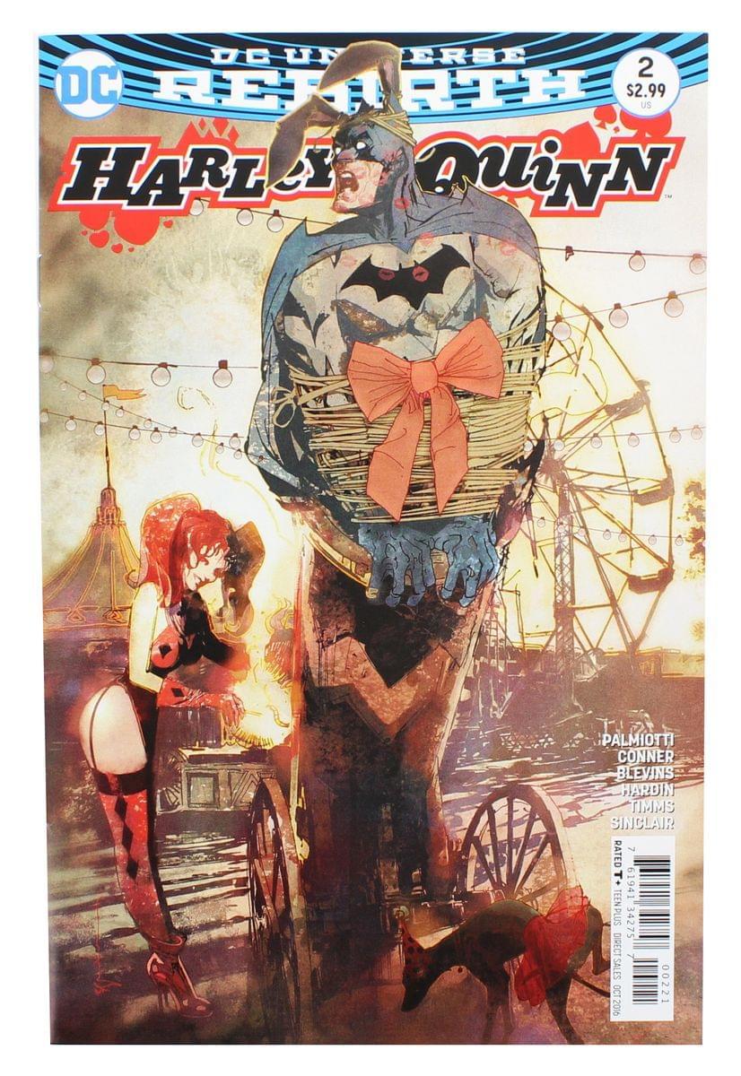DC Universe Rebirth: Harley Quinn #2 (Nerd Block Exclusive Cover)