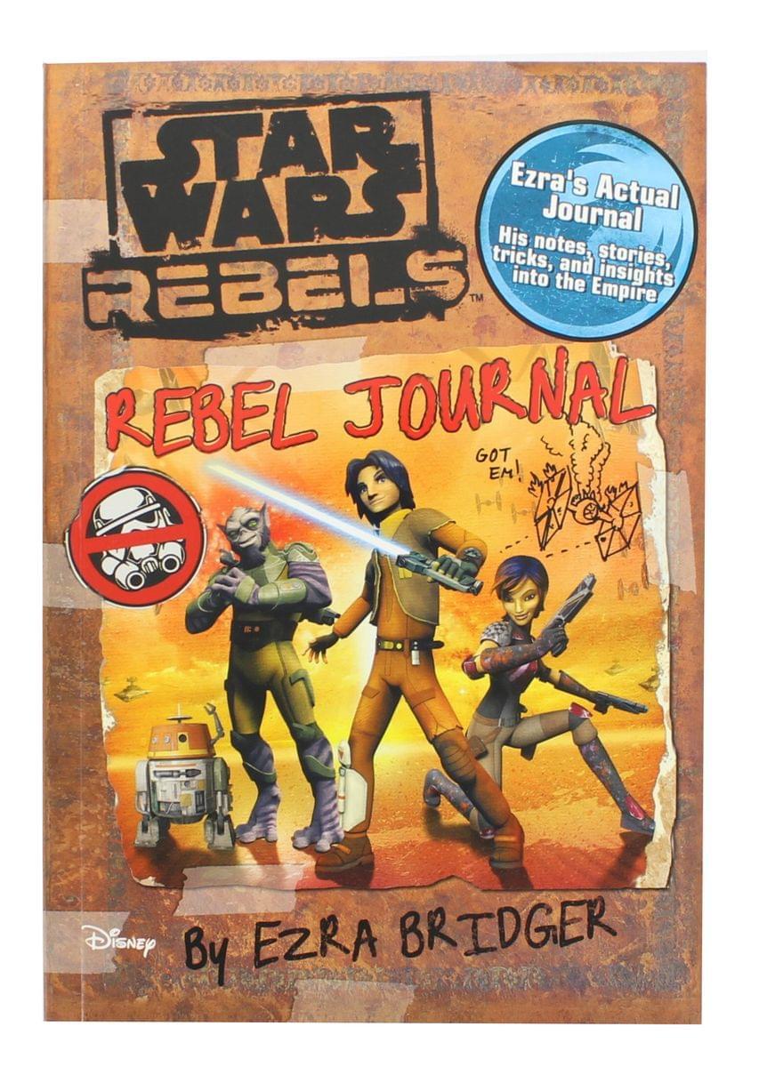 Star Wars Rebels: Rebel Journal by Ezra Bridger Paperback Book