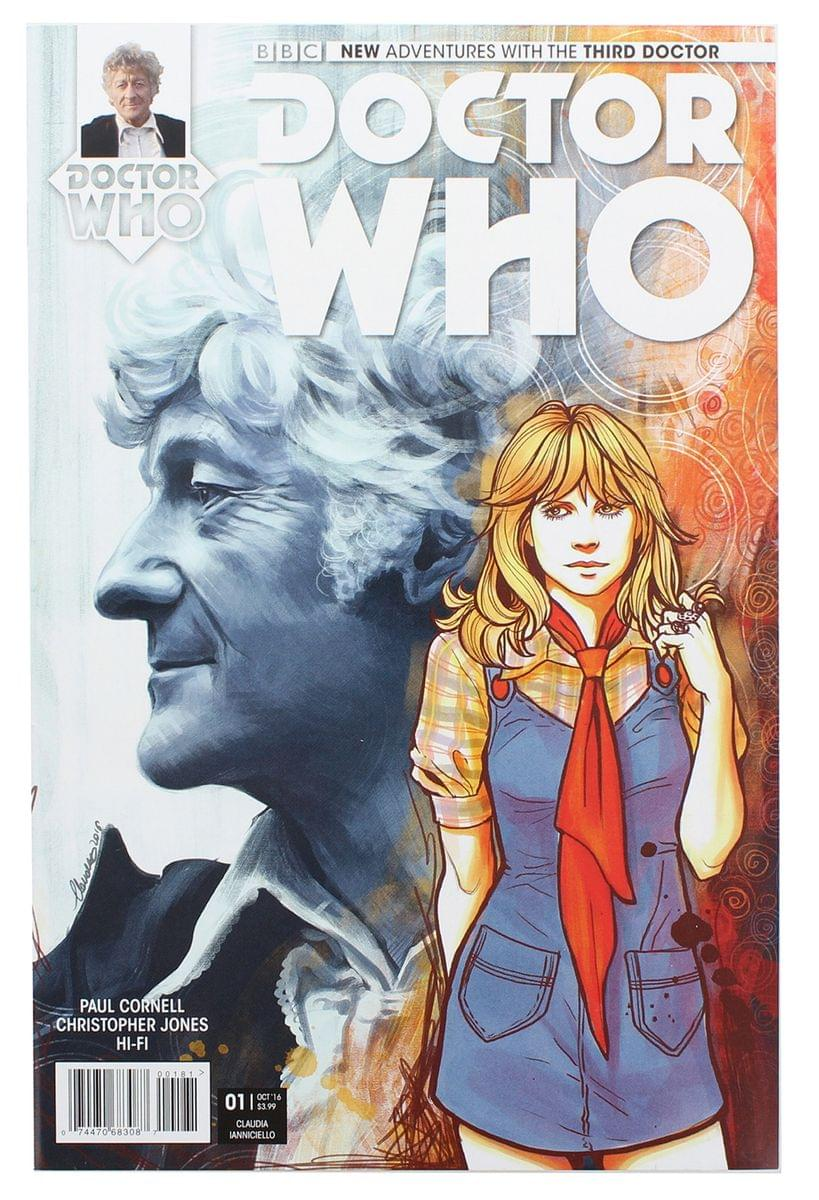 Doctor Who: The Third Doctor #1 (Nerd Block Exclusive Cover)