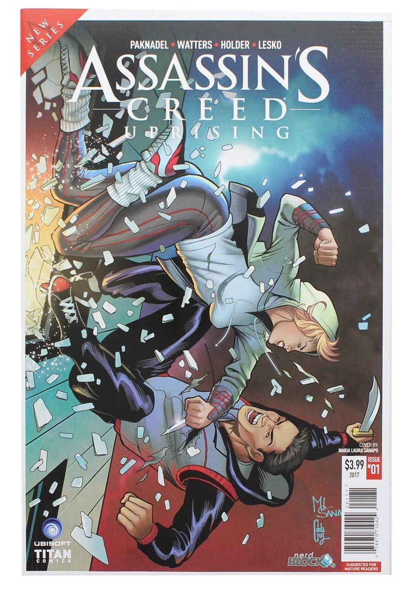 Assassin's Creed: Uprising #1 (Nerd Block Exclusive Cover)
