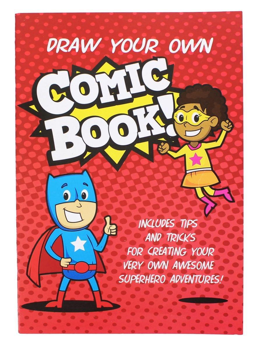 Draw Your Own Comic Book! (Nerd Block Jr. Exclusive)