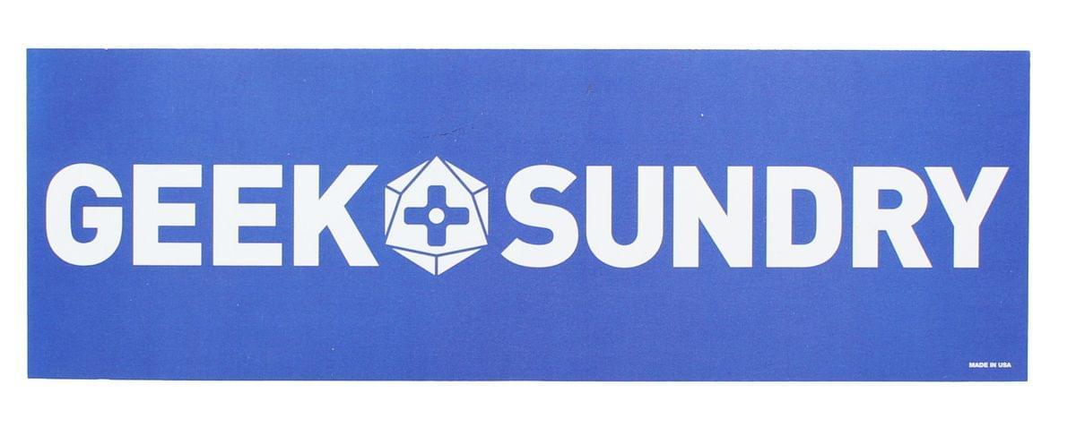 Geek & Sundry Bumper Sticker