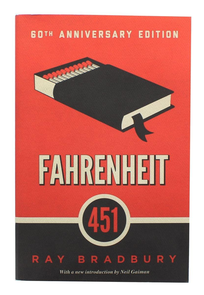 Fahrenheit 451 60th Anniversary Edition Paperback Book
