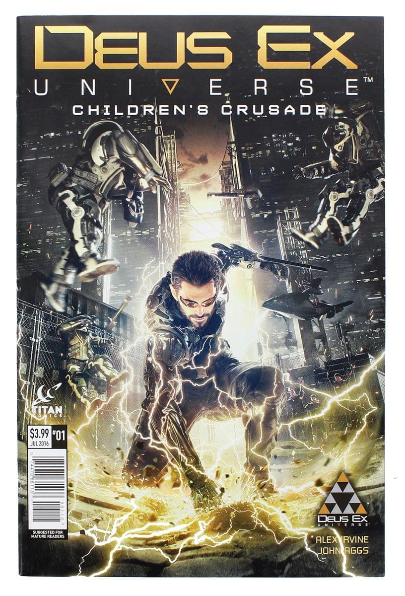 Deus Ex Universe: Children's Crusade #1 (Nerd Block Exclusive Cover)