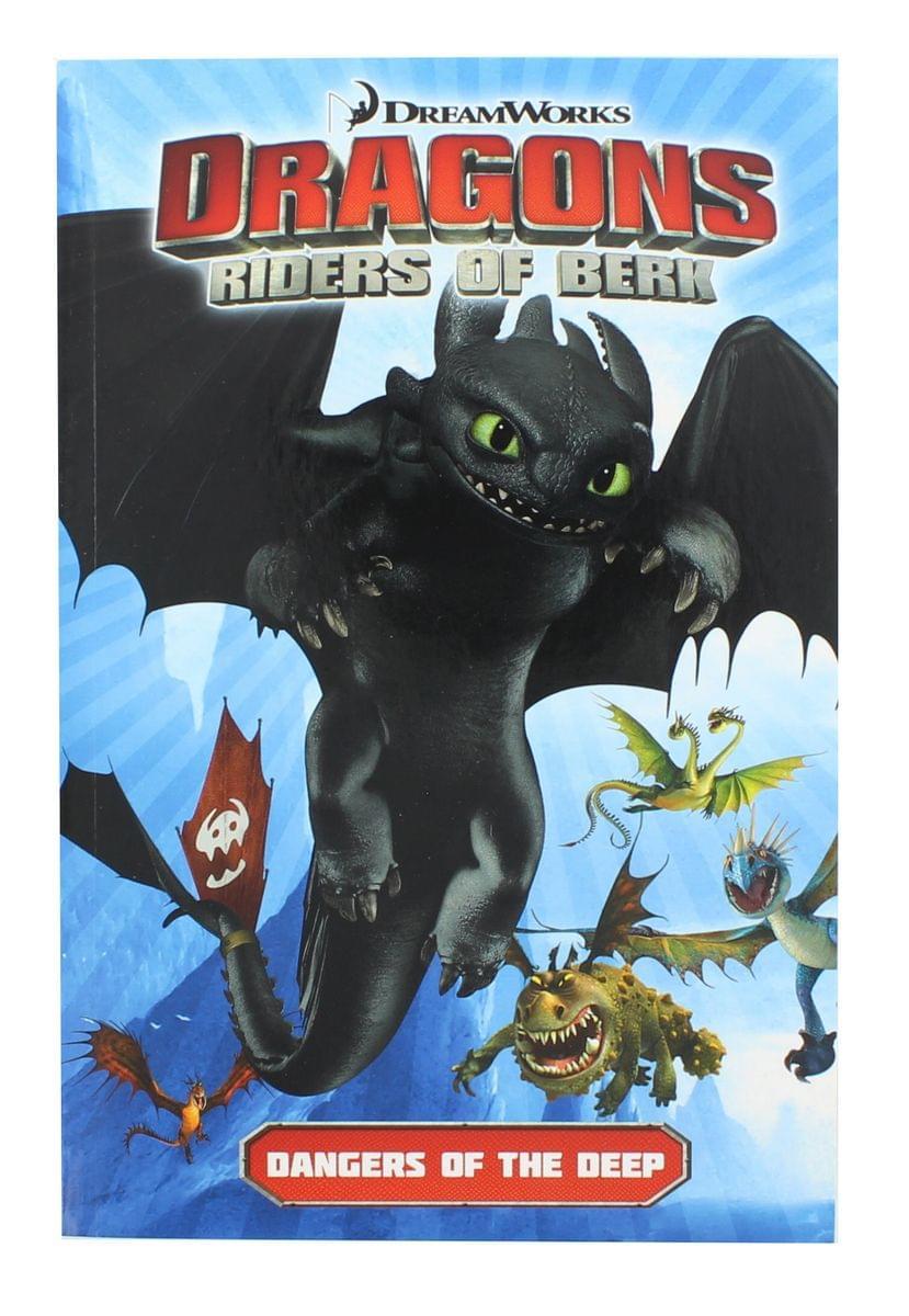 Dragons: Riders of Berk Vol. 2: Dangers of the Deep Paperback Book