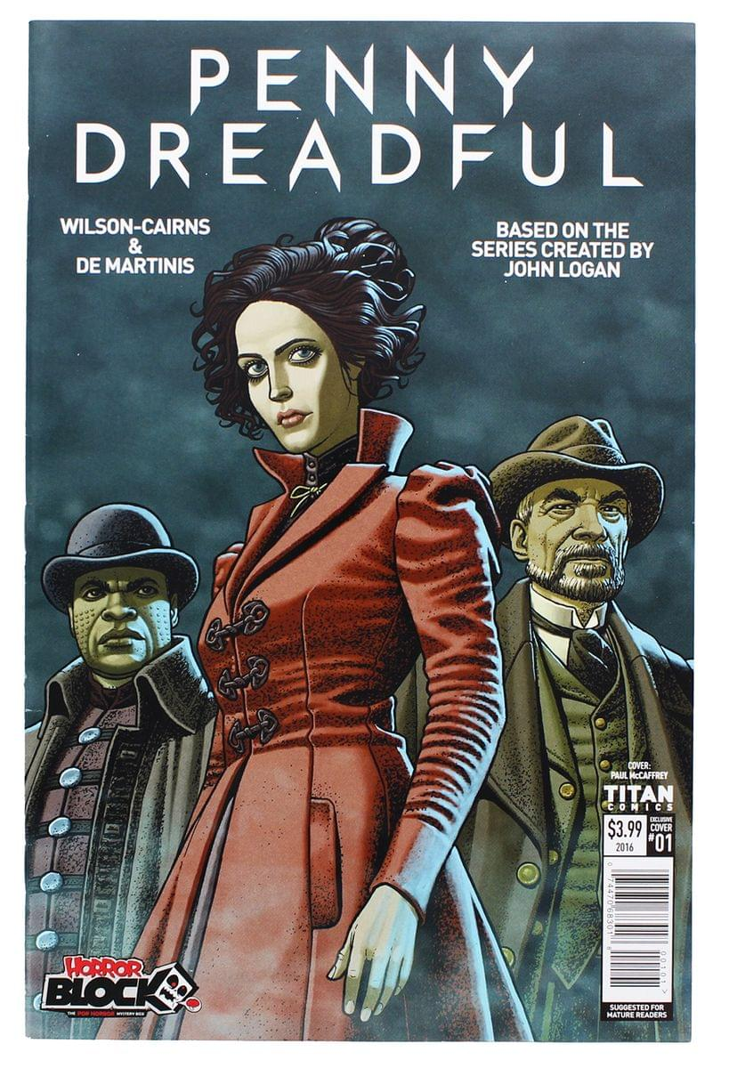 Titan Comics Penny Dreadful #1 Horror Block Exclusive Cover Comic Book
