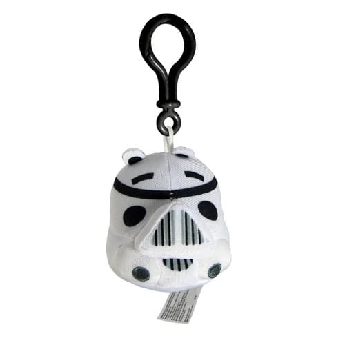 Angry Birds Star Wars Plush Backback Clip On: Stormtrooper