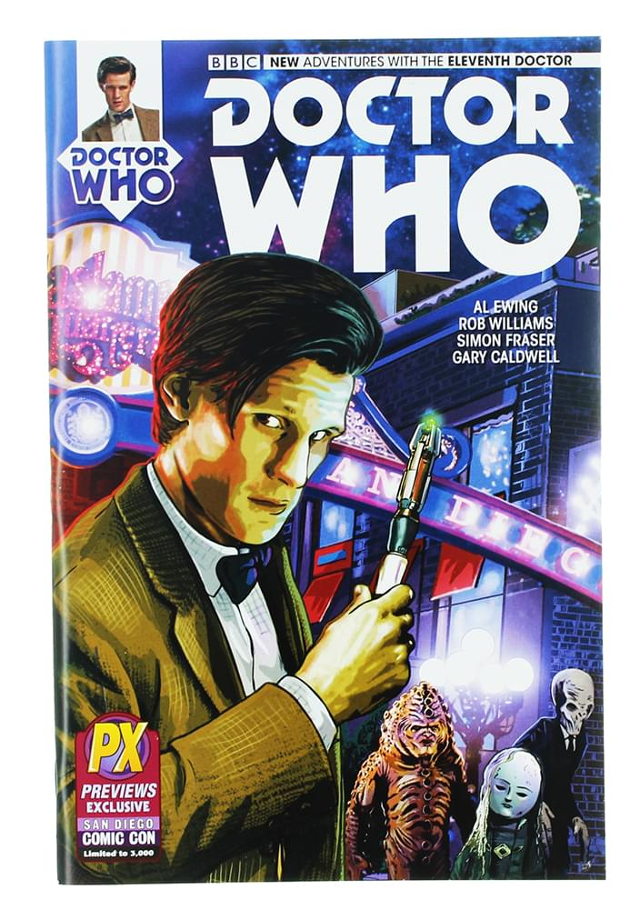 Diamond Select Doctor Who The Eleventh Doctor #1 Variant Comic Book
