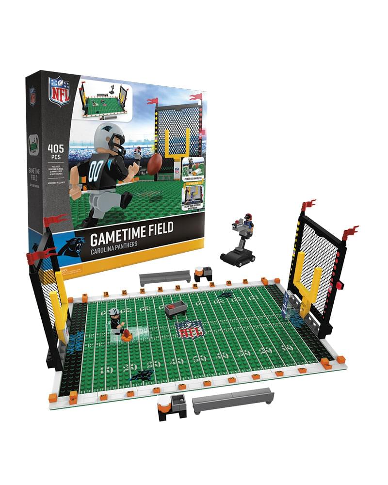 Carolina Panthers NFL OYO Figure and Field Team Game Time Set