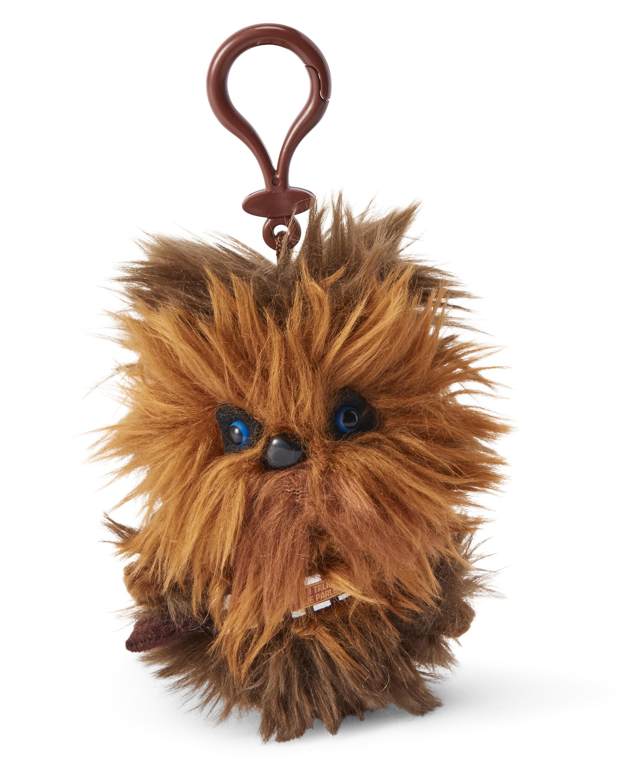 "Boba Fett Star Wars Mini Talking Plush Clip On With Original Sounds 4"""