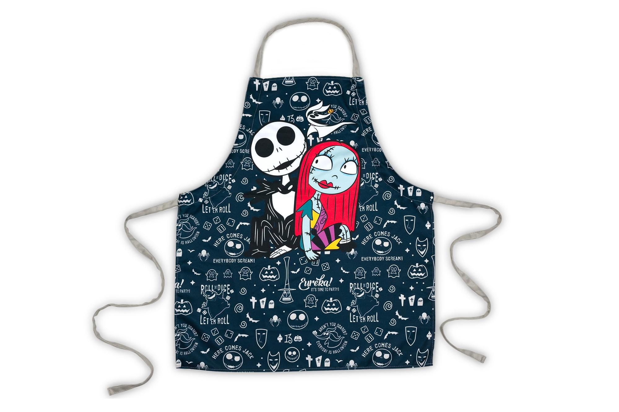 Nightmare Before Christmas Apron with Jack & Sally and ...