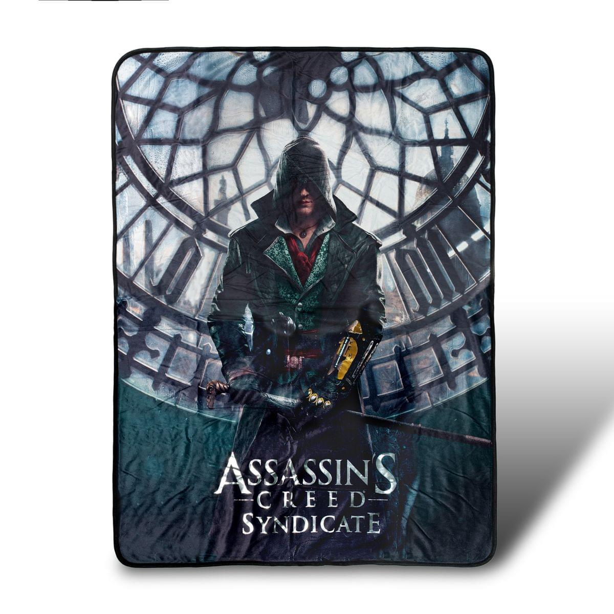 Assassin's Creed Syndicate Lightweight Fleece Throw Blanket | 45 x 60 Inches