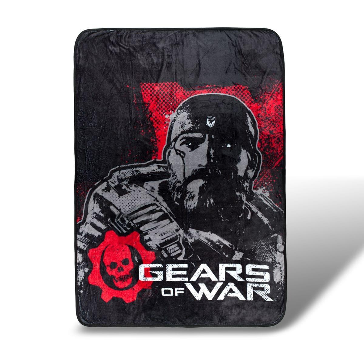 Gears Of War Lightweight Fleece Throw Blanket | 45 x 60 Inches
