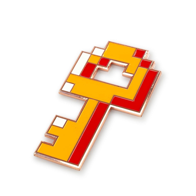 EXCLUSIVE The Legend of Zelda 8-Bit Boss Key | Metal Replica of a Dungeon Key