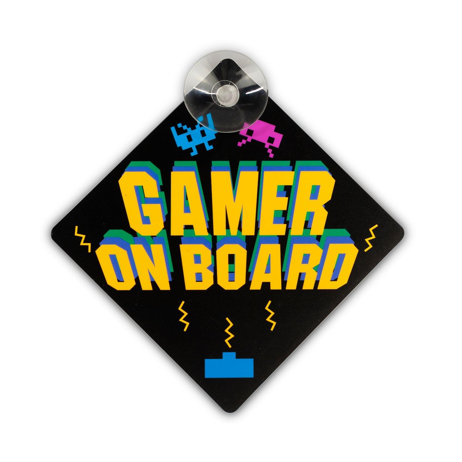 Car Window Sign | Gamer On Board Car Wind Sign | Xbox Gamers