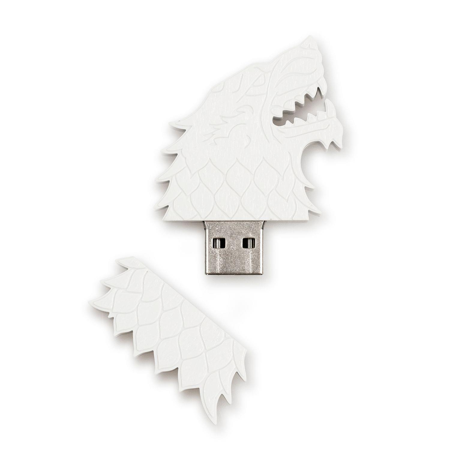 Game of Thrones Dire Wolf 4GB USB Flash Drive, by Games Alliance