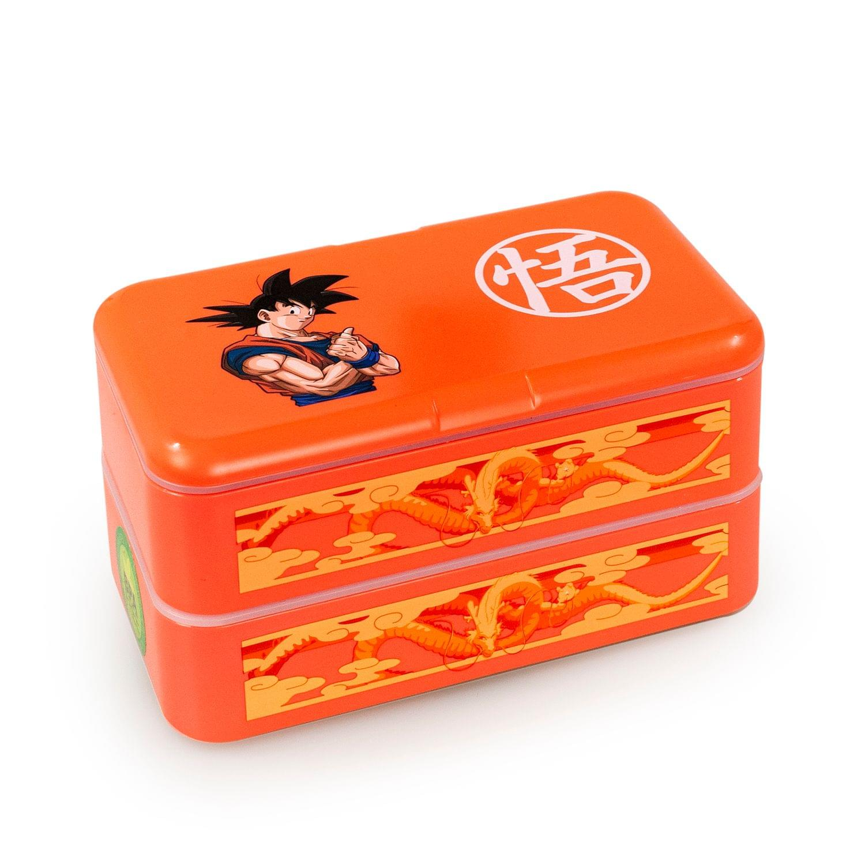Dragon Ball Z Goku Bento Box w/ Chopsticks & Spoon
