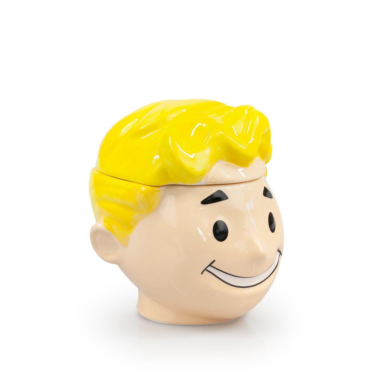Fallout Collectibles Smiling Vault Boy Cookie Jar | Fallout 3D Ceramic Jar