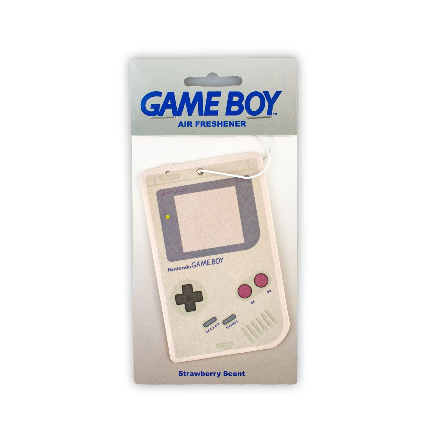 Nintendo Game Boy Strawberry Car Air Freshener | Official Nintendo Collectible