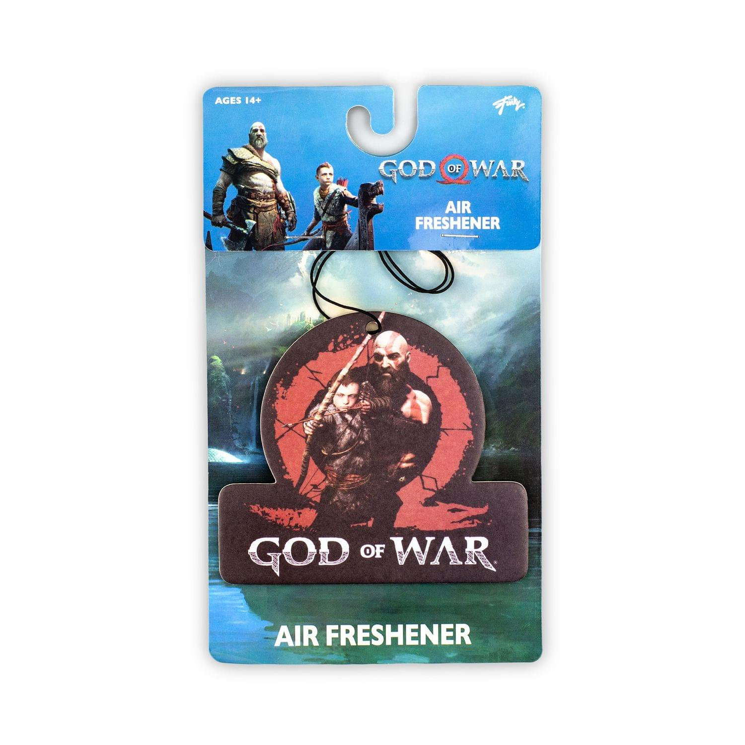 God of War 2018 Kratos and Son Air Freshener | Freshly Scented