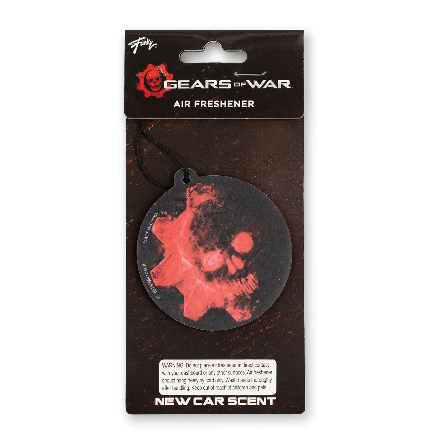 Xbox Gears Of War Air Freshener | Toynk Toys Exclusive - New Car Scent