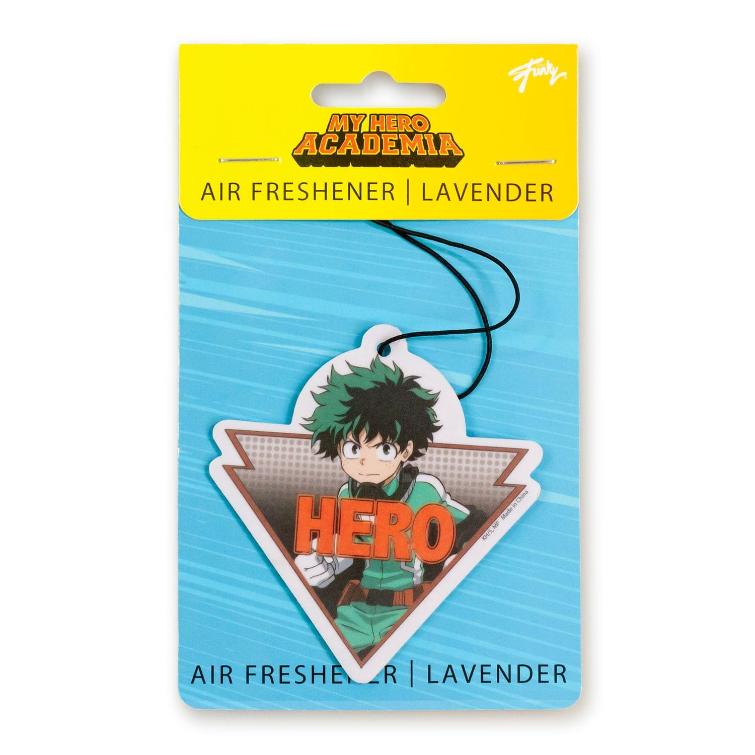 My Hero Academia Collectibles |Izuku Double Sided Air Freshener