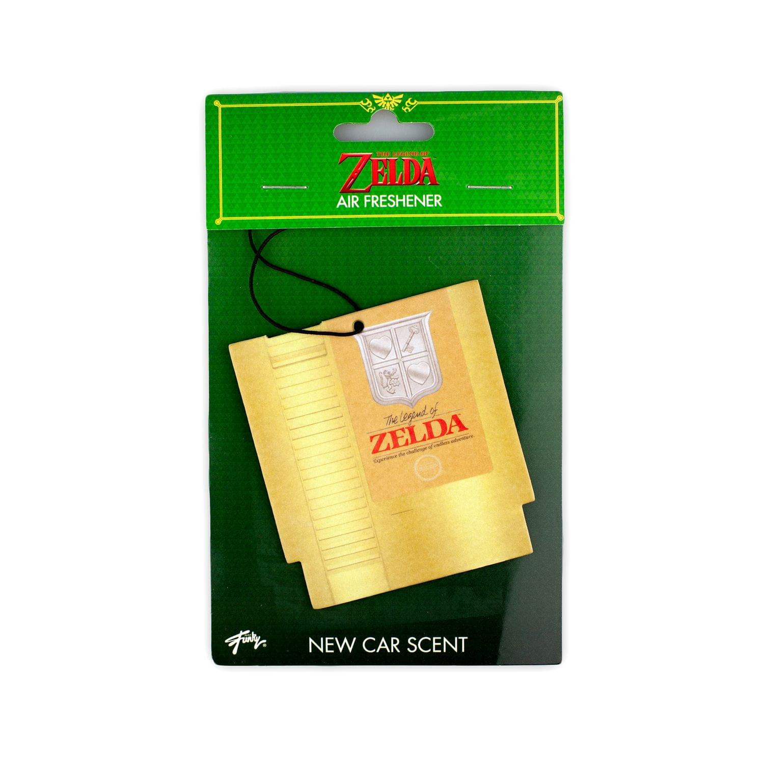 The Legend Of Zelda Official NES Cartridge Air Freshener | New Car Scent
