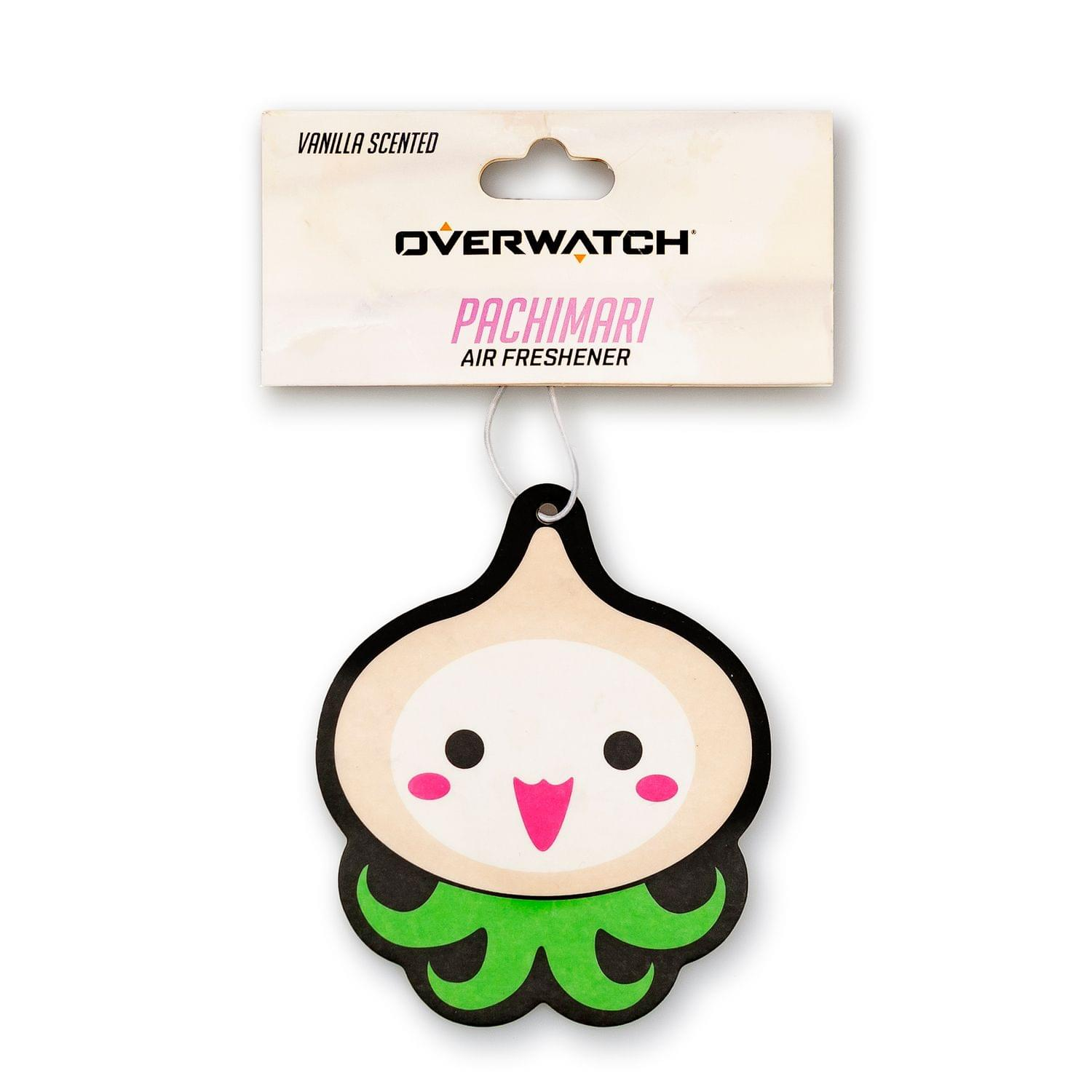 OFFICIAL Pachimari Air Freshener | Feat. Pachimari of Overwatch | Vanilla Scent