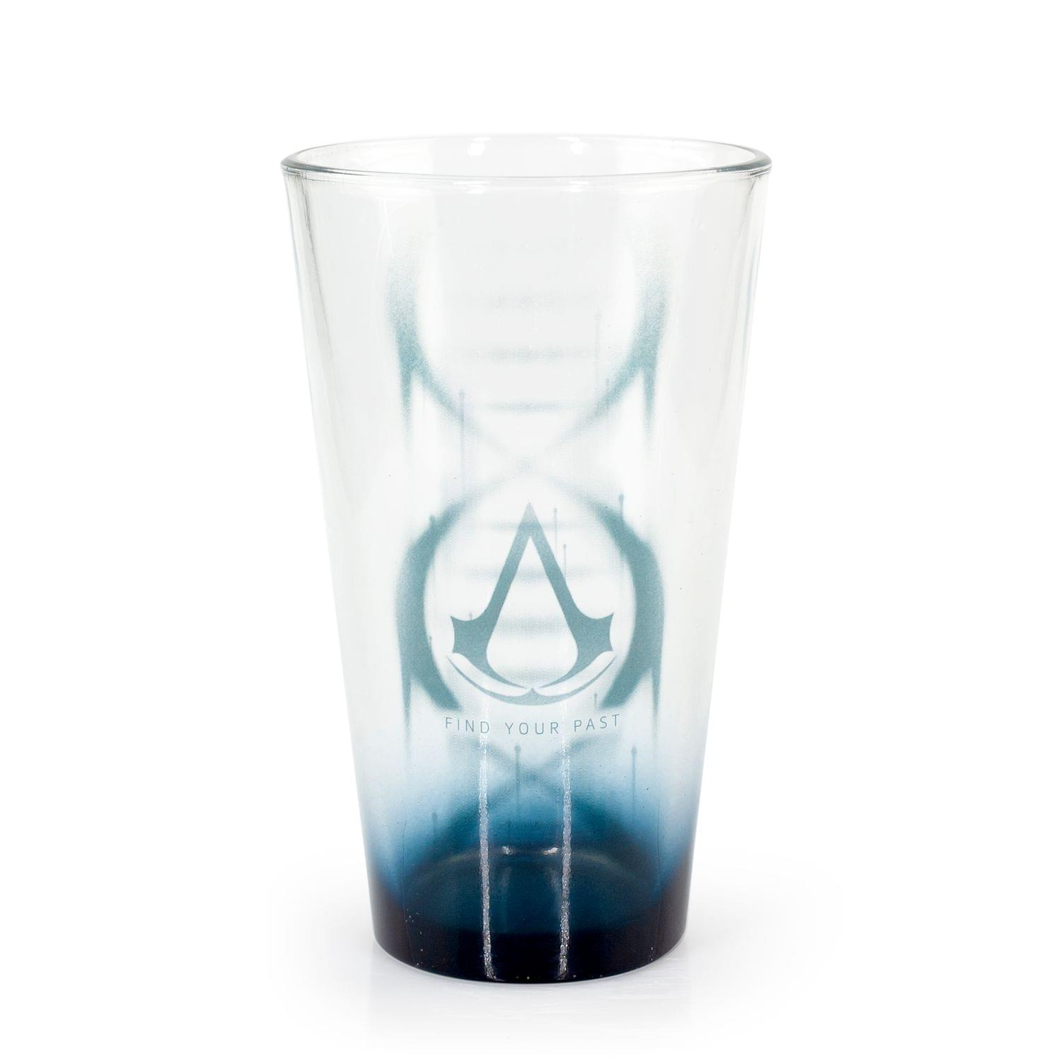 Assassin's Creed Pint Glass| Find Your Past Text| 16 oz