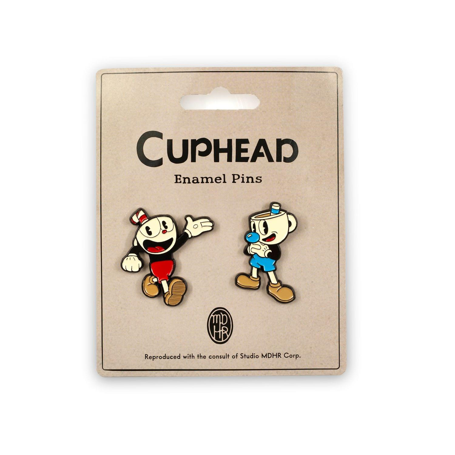 Details about Cuphead & Mugman Pin Set | Official Cuphead Collectible  Enamel Pins | Set of 2