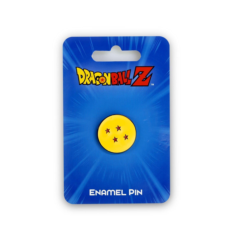 Dragon Ball Z Collectible | Dragon Ball Z 4 Star Soft Enamel Pin