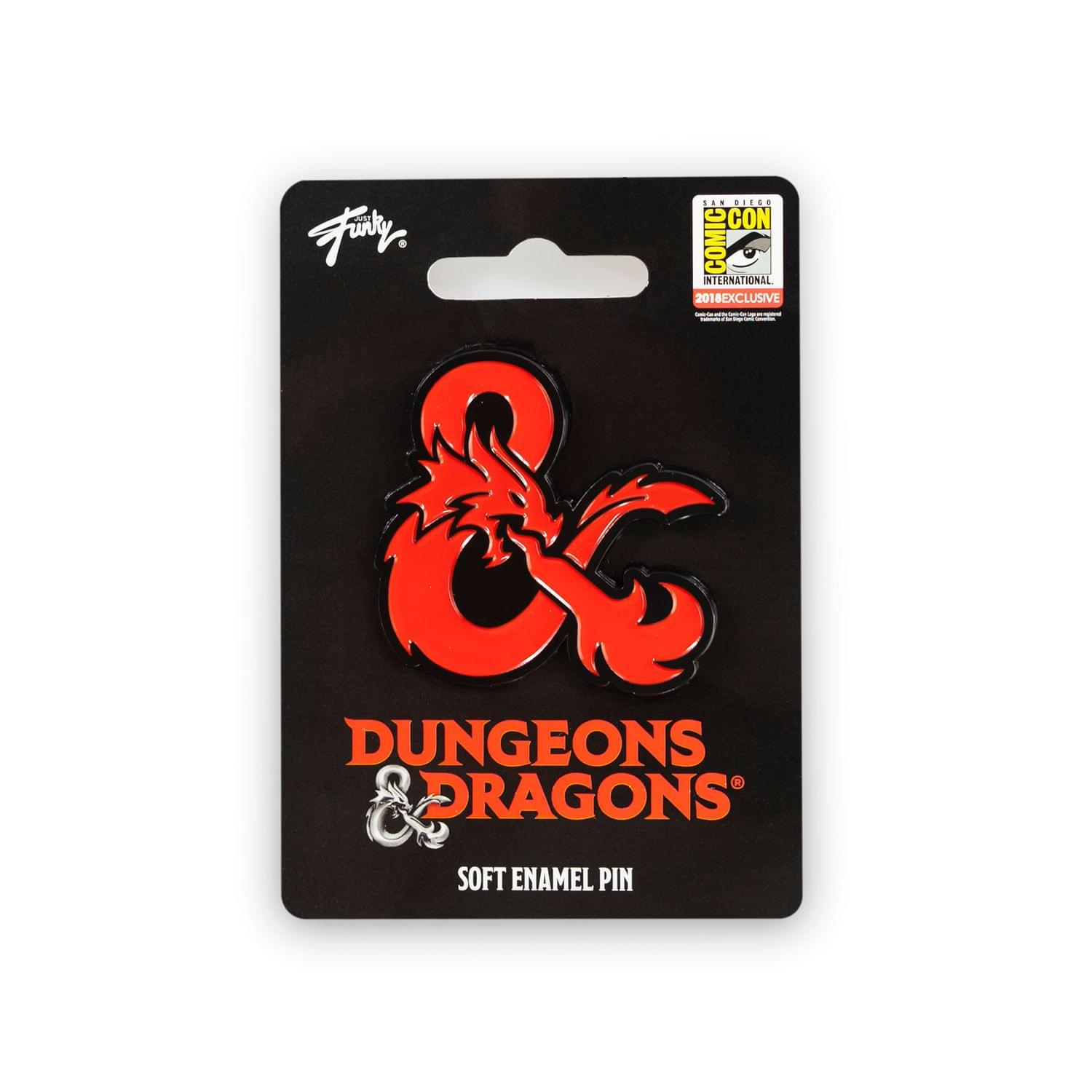 Dungeons Collectibles | Dungeons & Dragons Ampersand Pin| Collector's Edition